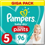 Pampers Baby-Dry Pants Stl 5 12-17 kg 96 st