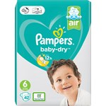 Pampers Baby-Dry S6 13 kg+ 42 st