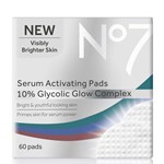 No7 Serum Activating Pads 10% Glycolic Glow Complex 60 st