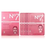 No7 Restore & Renew Face & Neck Serum Boost Sheet Masks 4-pack
