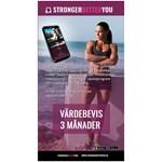 Stronger Better You Hälso & Träningsapp Värdebevis 3 månader