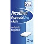 Nicotinell Peppermint Medicinskt tuggummi 2 mg 96 st