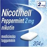 Nicotinell Peppermint Medicinskt tuggummi 2 mg 204 st