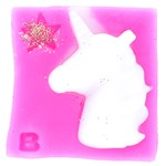 Bomb Cosmetics Wax Melts Shapes Pink Unicorn