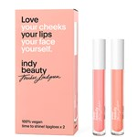 Indy Beauty Time To Shine! Lipgloss Presentbox 2 x 3 ml