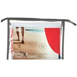 Smart Beach & Travel Towel Hampton Blue Red