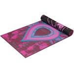 Gaiam Yoga Mat 6 mm Reversible Be Free