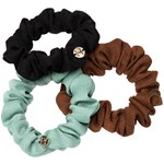 Hermine Hold Mini Scrunchie Mix 3-pack