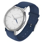 Withings Move Timeless Chic White/Silver/Blue aktivitetsklocka