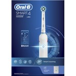Oral-B Smart 4 4200W Eltandborste White