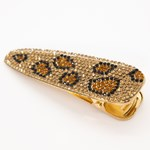 Add A Little Something Hair Clip Leo Brown Glitter