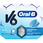 V6 Oral-B Peppermint 10st