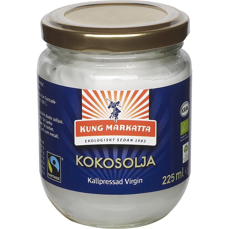 neutral kokosolja kung markatta