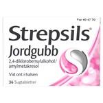 Strepsils Jordgubb Sugtablett Blister, 36 tabletter