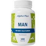 Alpha Plus Man 100 tabletter