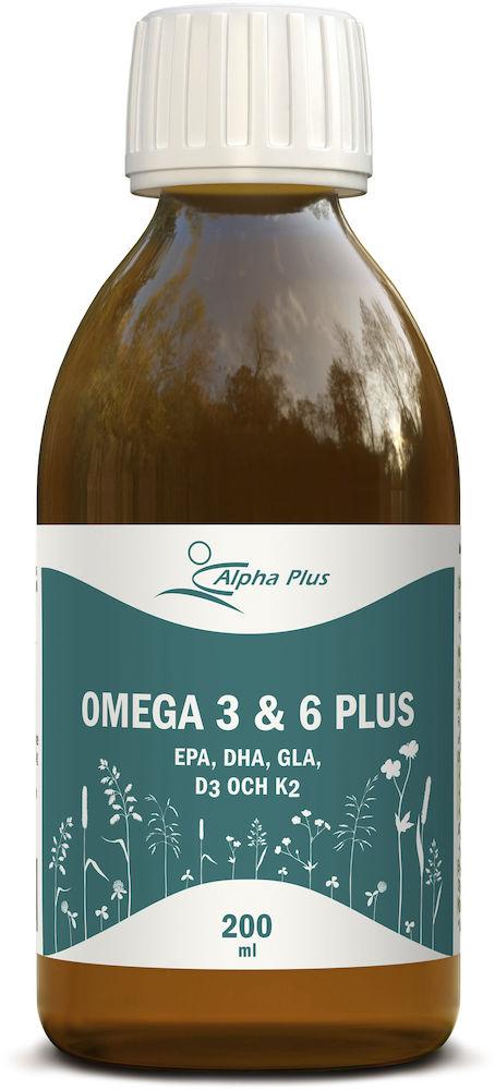 omega 3 och 6
