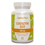 Alpha Plus Coenzym Q10 100 mg 60 kapslar