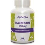 Alpha Plus Magnesium 100 mg 60 tabletter