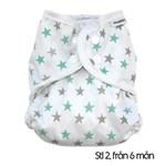 MuslinZ Tygblöja Mint Stars 1st