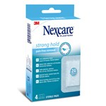 Nexcare Strong Hold Sterilt Plåster 76,2 mm × 101 mm 4 st