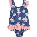 Geggamoja UV Baby Baddräkt Flamingo