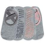 Gaiam Grippy Yoga Barre Socks Folkstone 2-pack