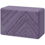 Gaiam Yoga Block Navajo Heron
