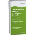 Desloratadine Sandoz Oral lösning 0,5mg/ml Flaska, 60ml
