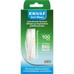 Ekulf 3in1 Floss Tandtråd 100 st