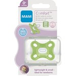 MAM Comfort Newborn napp 1-pack Neutral