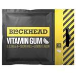 Blockhead Vitamin Gum Lemon vitamintuggummi 17 g