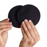 Carriwell Amningsinlägg Svarta Tvättbara 6 st inkl Tvättpåse