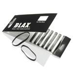 BLAX Hårsnodd Black 8 st