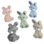 Rätt Start Badleksak Kaniner i Pastellfärger 5-pack