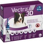 Vectra 3D för hund 10-25 kg Spot-on lösning Pipett, 3st (3x3,6ml)