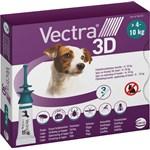 Vectra 3D för hund 4-10 kg Spot-on lösning Pipett, 3st (3x1,6ml)