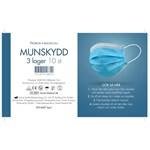 Munskydd engångsbruk 10-pack