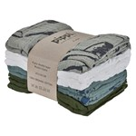 Pippi Organic Cloth Muslin Lead 8-pack