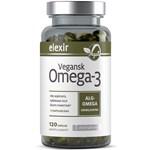 Elexir Vegansk Omega-3 120 kapslar