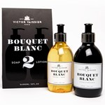 Victor Vaissier Bouquet Blanc Soap & Lotion Gift Bag