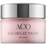 ACO Age Delay Nightcream Dry skin Parf 50ml