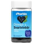 Pharbio Omega-3 Svartvinbär Kapsel 80st