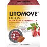 Litomove Gurkmeja & Boswellia Tablett 60st