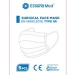 Esound Kirurgiskt munskydd typ IIR - öronband 5 styck