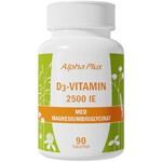 Alpha Plus D3-Vitamin 2500 IE 90 tabletter