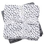 Done by Deer Swaddle Happy Dots Grey 2-pack
