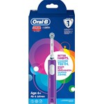 Oral-B Junior Purple 6+ år Eltandborste