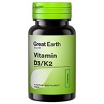 Great Earth Vitamin D3/K2 60 kapslar