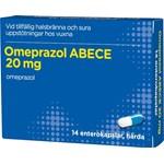 ABECE Omeprazol 20 mg 14 kapslar i blister