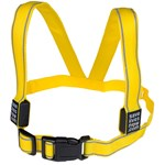 Save Lives Now Flash LED Light Vest Rechargeable Yellow